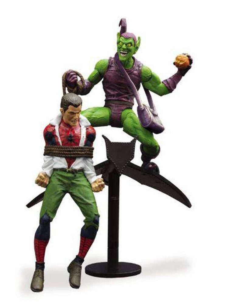 Diamond Select Toys: Marvel Select - Classic Green Goblin vs. Spider Man Action Figure