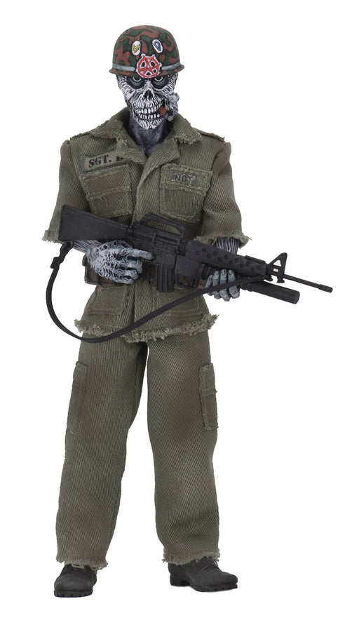 NECA S.O.D. Retro Cloth 8-inch Action Figure - Sgt. D