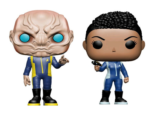Funko Pop! Television: Star Trek Discovery (Set of 2)