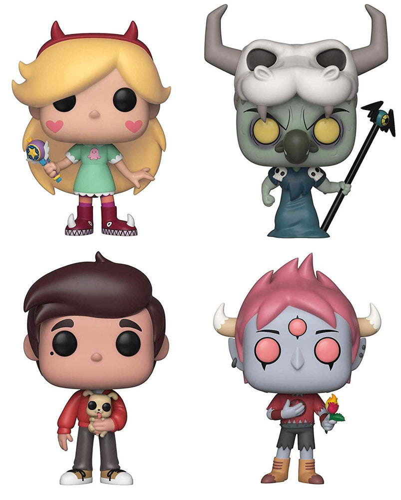 Funko Pop! Disney: Star vs The Forces of Evil (Set of 4)