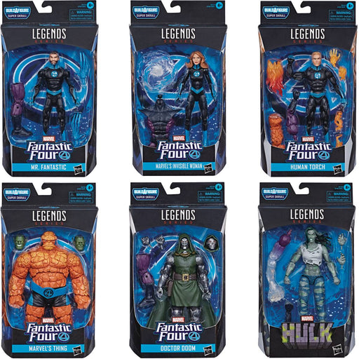 Hasbro Marvel Legends Fantastic Four: Super Skrull Build-A-Figure Collection (Set of 6)