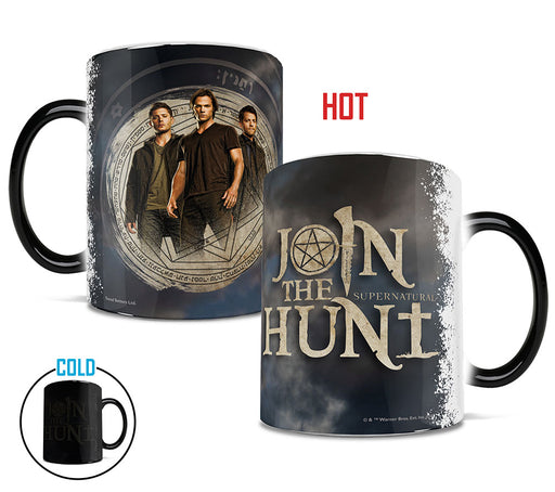 Morphing Mugs Supernatural (The Hunters Three) Heat-Sensitive Mug