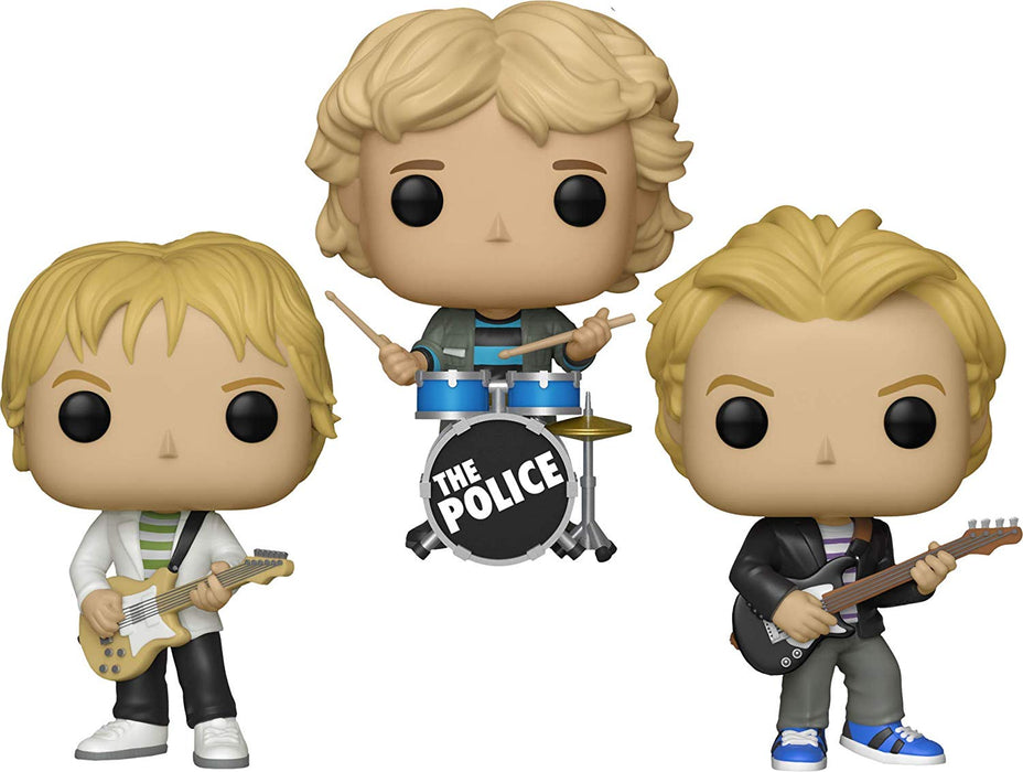 Funko Pop! Rocks: The Police (Set of 3)
