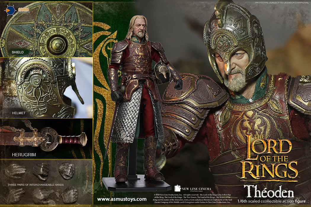 Asmus Toys Lord of the Rings - Theoden 1/6 Scale Action Figure