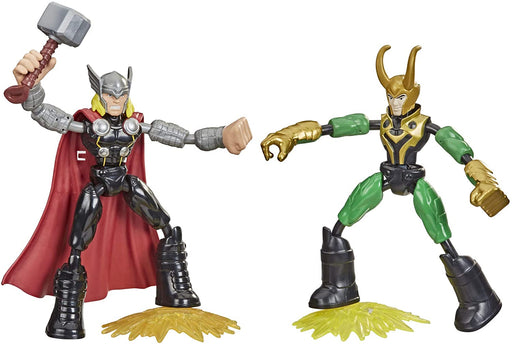 Hasbro Marvel Bend and Flex - Thor vs. Loki