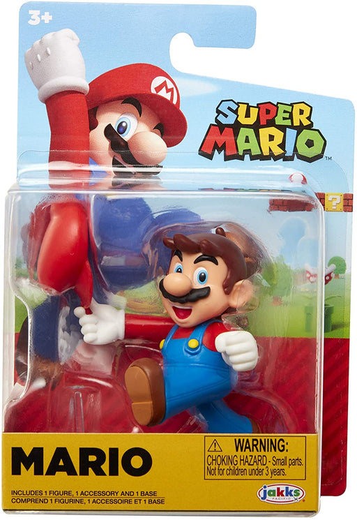 Jakks World of Nintendo: Super Mario 2-1/2 Minifigures (Wave 23) - Tipping Hat Mario