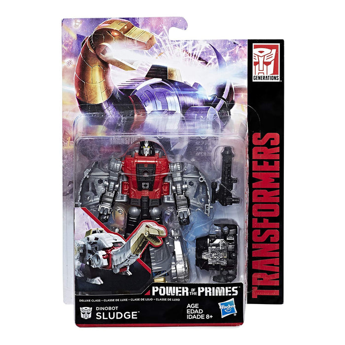 Transformers Generations Power of the Primes Deluxe Class Dinobot Sludge Action Figure