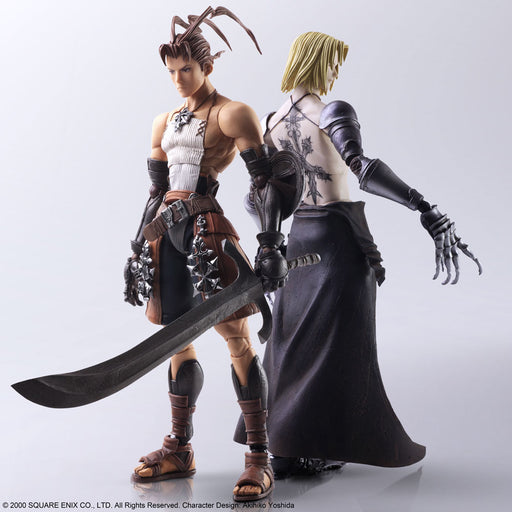 Square Enix Vagrant Story Bring Arts Ashley Riot & Sydney Losstarot Action Figure Set