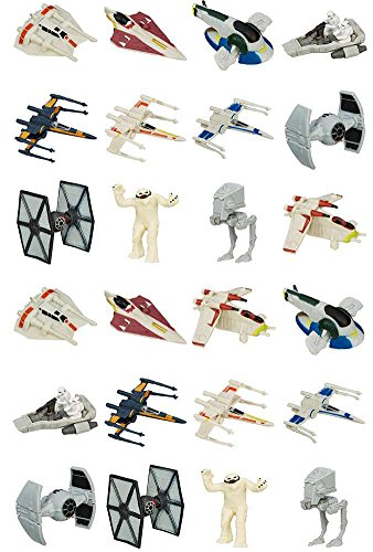 Star Wars The Force Awakens Micro Machines Wave 2 Blind Bags (Case of 24)
