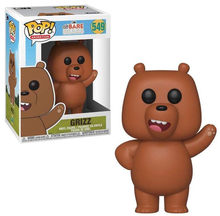Funko Pop! Animation: We Bare Bears - Grizz