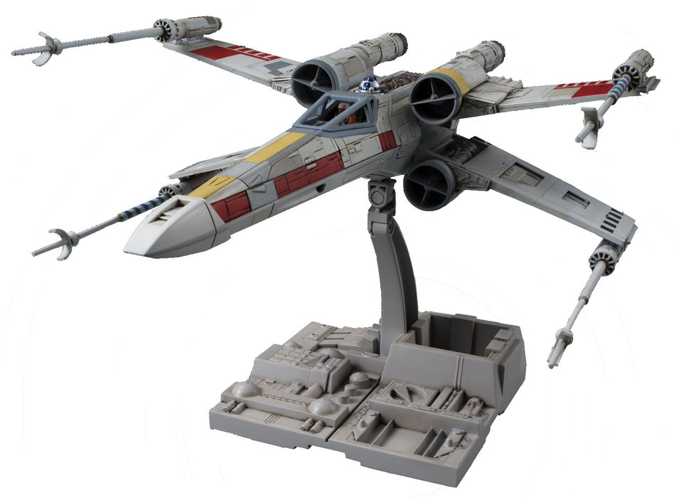 Bandai Hobby Star Wars X-Wing Starfighter 1/72 Model Kit
