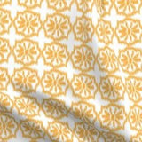 orange ikat fabric
