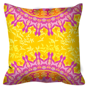 Parallels Outdoor Throw Pillow
