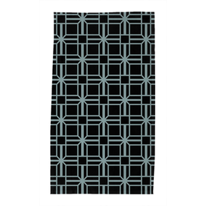 Geometric Evening Tea Towel