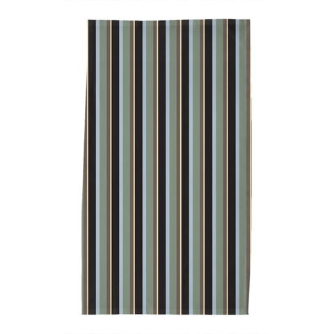 Striped Evening Tea Towel