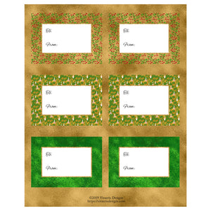Printable Holiday Gift Tags - Free Download