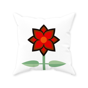 Heart of Andalusia Throw Pillow