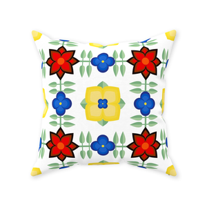 Andalusian Tile Throw Pillow