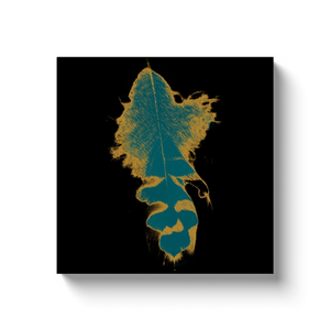 Seraphim Feather Wrapped Canvas Wall Art