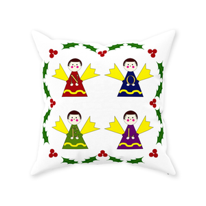 Angels Sing Noel Throw Pillow
