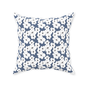 Nantucket Floral Throw Pillow