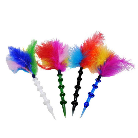 Rainbow Feather Handling Tool