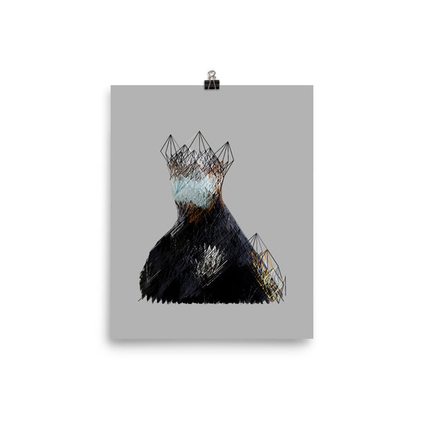 regal weariness print