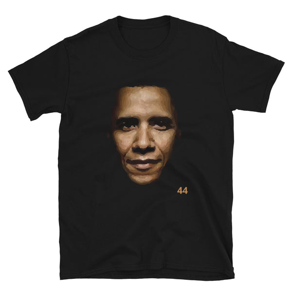 BARACK H. OBAMA - 44th U.S. PRESIDENT - Short Sleeve T-shirt