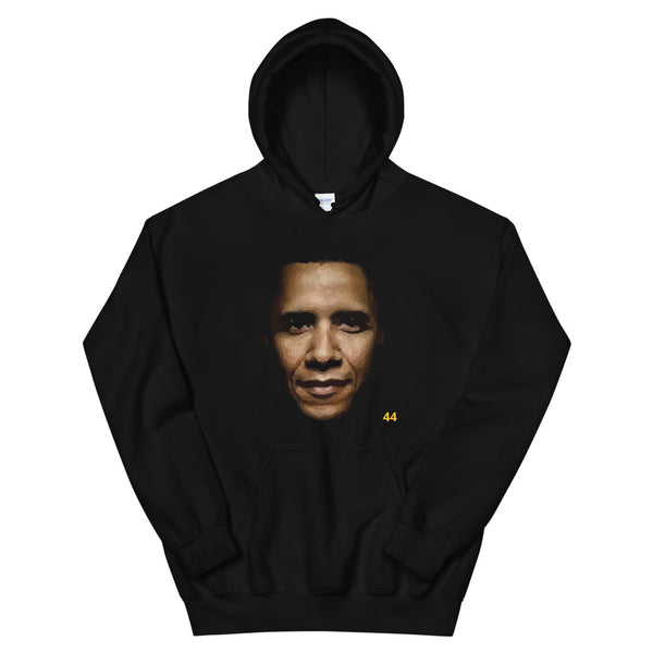 BARACK H. OBAMA - 44th U.S. PRESIDENT - Hooded Sweatshirt