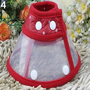 Puppy Pet Dog Cat Comfy Cone Neck Collar Anti-Bite Medical Recovery Protection - MomProStore