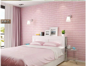 3D Foam Brick Wall Decoration