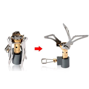 Mini folding outdoor stove