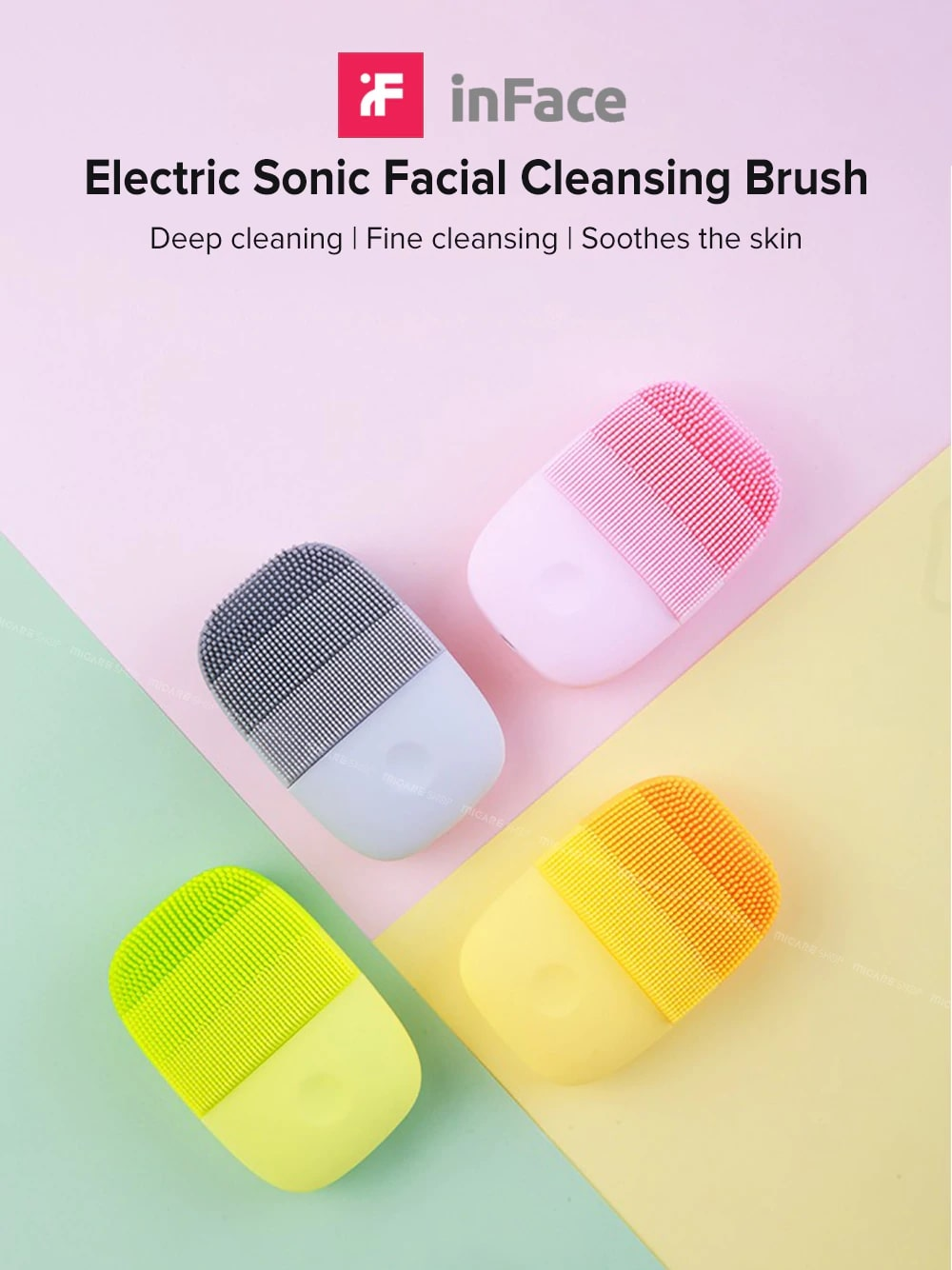 InFace Electric Facial Cleaning Brush