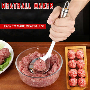 Non stick stainless steel Meatball Maker Spoon