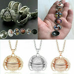 Expanding Photo Locket Pendant Magic Ball