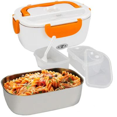 USB charging Electric Heating Stainless Steel Lunch Box