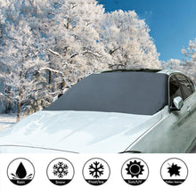 Load image into Gallery viewer, Automobile Magnetic Sunshade & Ice Cover For Car Windshield
