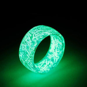 Fashion Luminous Crack Ring Geometry Accessories