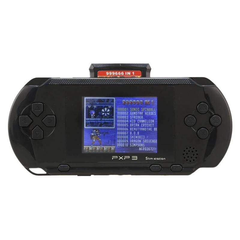 150 Classic Retro Games 3 Inch 16 Bit Pxp3 Handheld Game Player - MomProStore