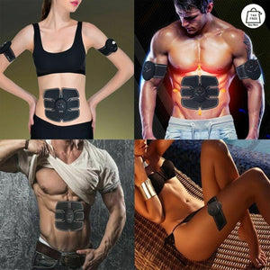 Electric Muscle Toner & Hip Trainer Simulation Abs Fat Burner Kit