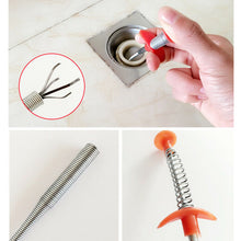 Load image into Gallery viewer, Kitchen Sewer Dredging Tools Pipe Sink Cleaning Hook