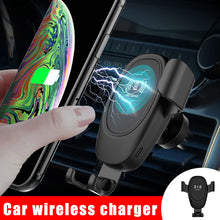 Load image into Gallery viewer, Wireless Car Charger Holder Bracket 360 Degree Rotating - MomProStore