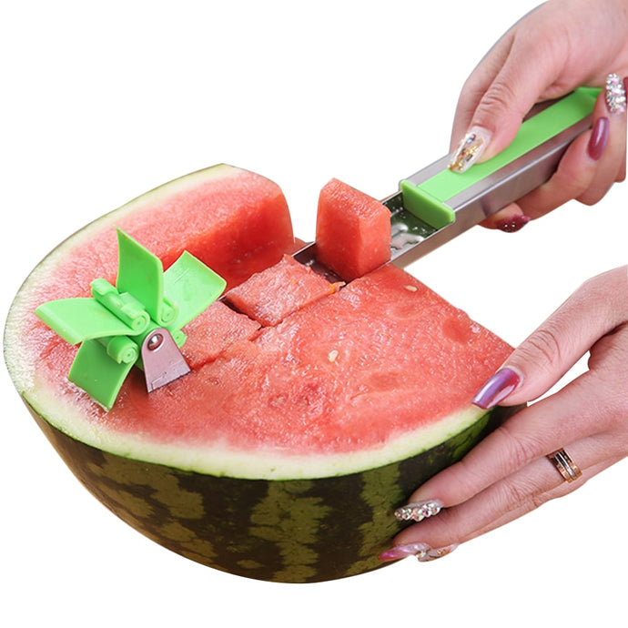 Watermelon Slicer Cutter Windmill Shape Plastic - MomProStore