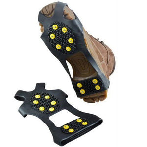 Anti Slip Snow Shoe Spikes For Winter & Outdooe Climbing & Hiking - MomProStore