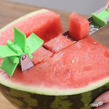 Load image into Gallery viewer, Watermelon Slicer Cutter Windmill Shape Plastic - MomProStore