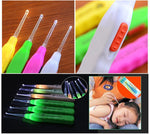 3 Multi use LED Light Ear Digger Flash light Wax Remover