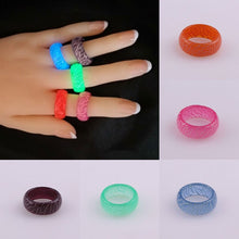 Load image into Gallery viewer, Fashion Luminous Crack Ring Geometry Accessories