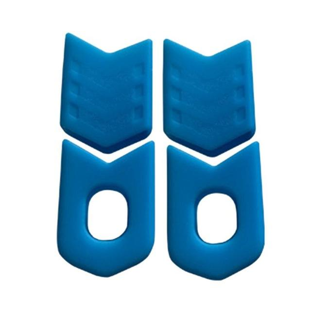 Bike Accessories 4Pcs Bicycle Crank Cover Silicone Arm Sleeve