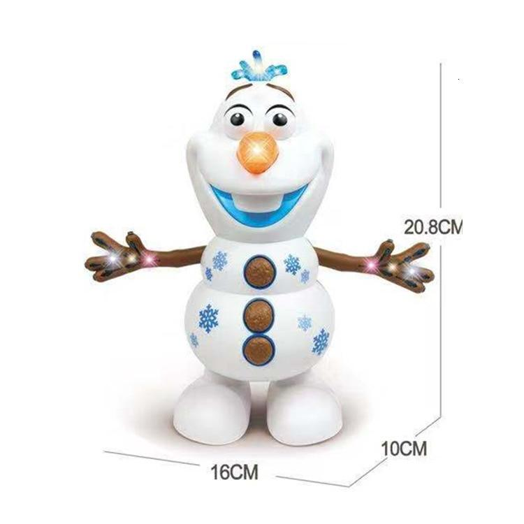 Olaf Frozen Dancing Snowman  With Led Music Flashlight - MomProStore