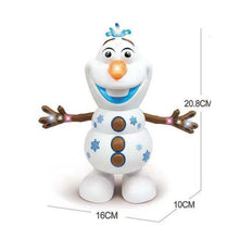 Load image into Gallery viewer, Olaf Frozen Dancing Snowman  With Led Music Flashlight - MomProStore